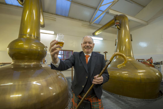 Alan James will be chieftain for the final Piping at Forres