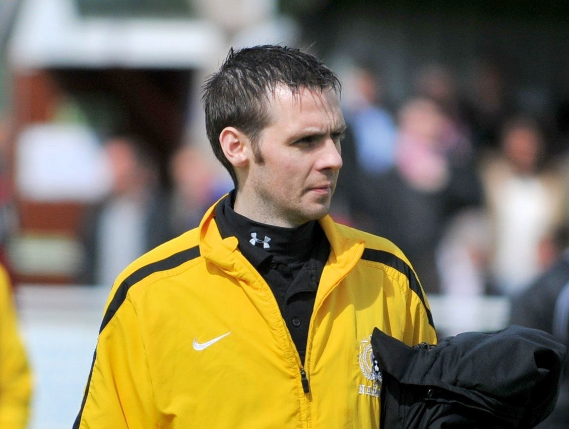 Ally Macleod during his time with Nairn County.