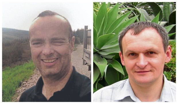 Farquhar Kennedy, left, Rimas Kuskys