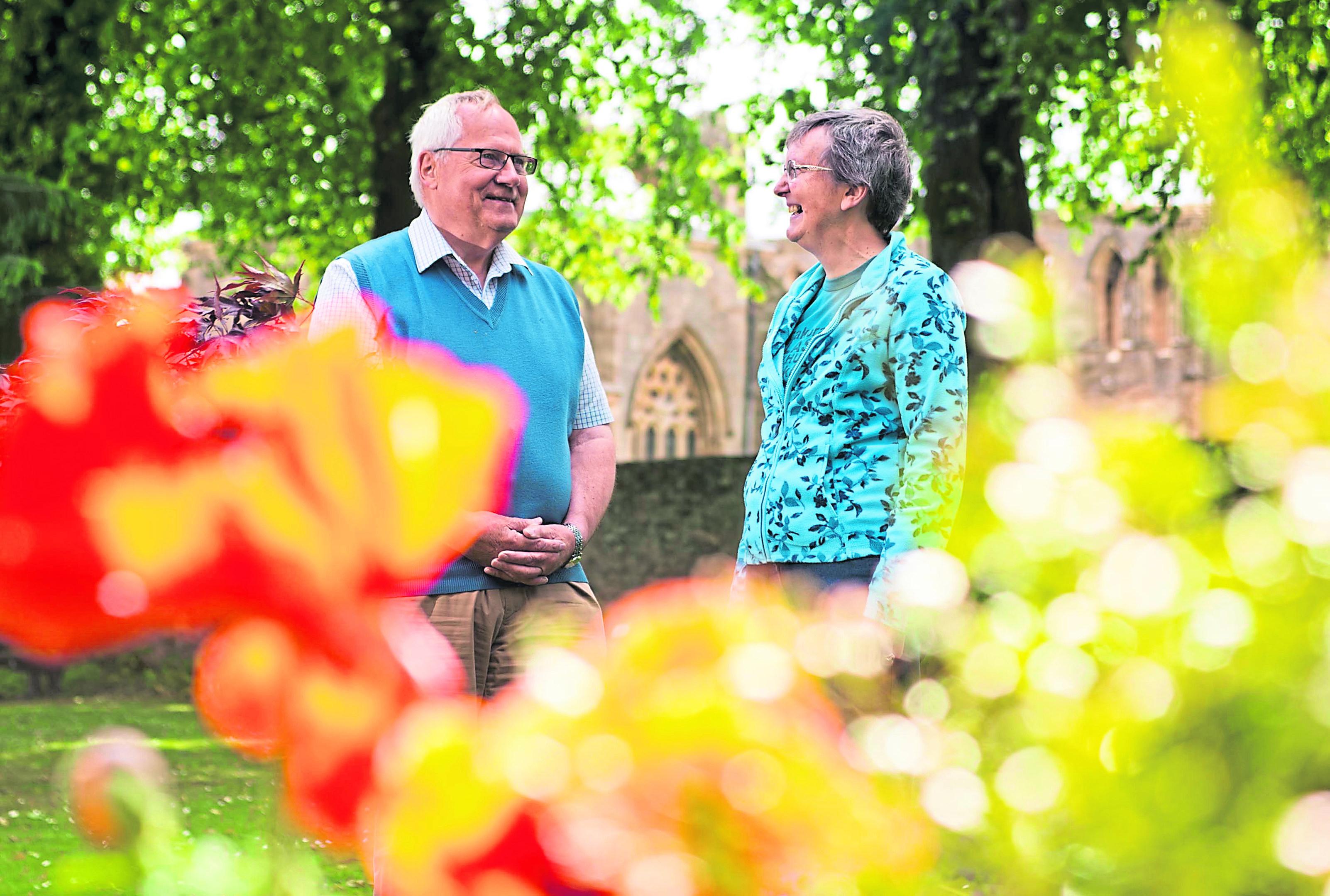 Maggie Sharp and John Sherry