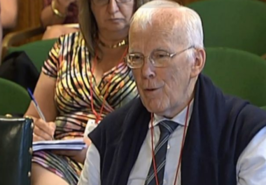 Sir Ian Wood at the Scottish Affairs Committee