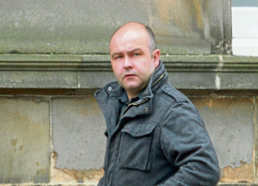 Boyd Sigerson has been admonished at Oban Sheriff Court