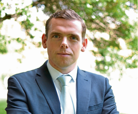 Moray MP Douglas Ross