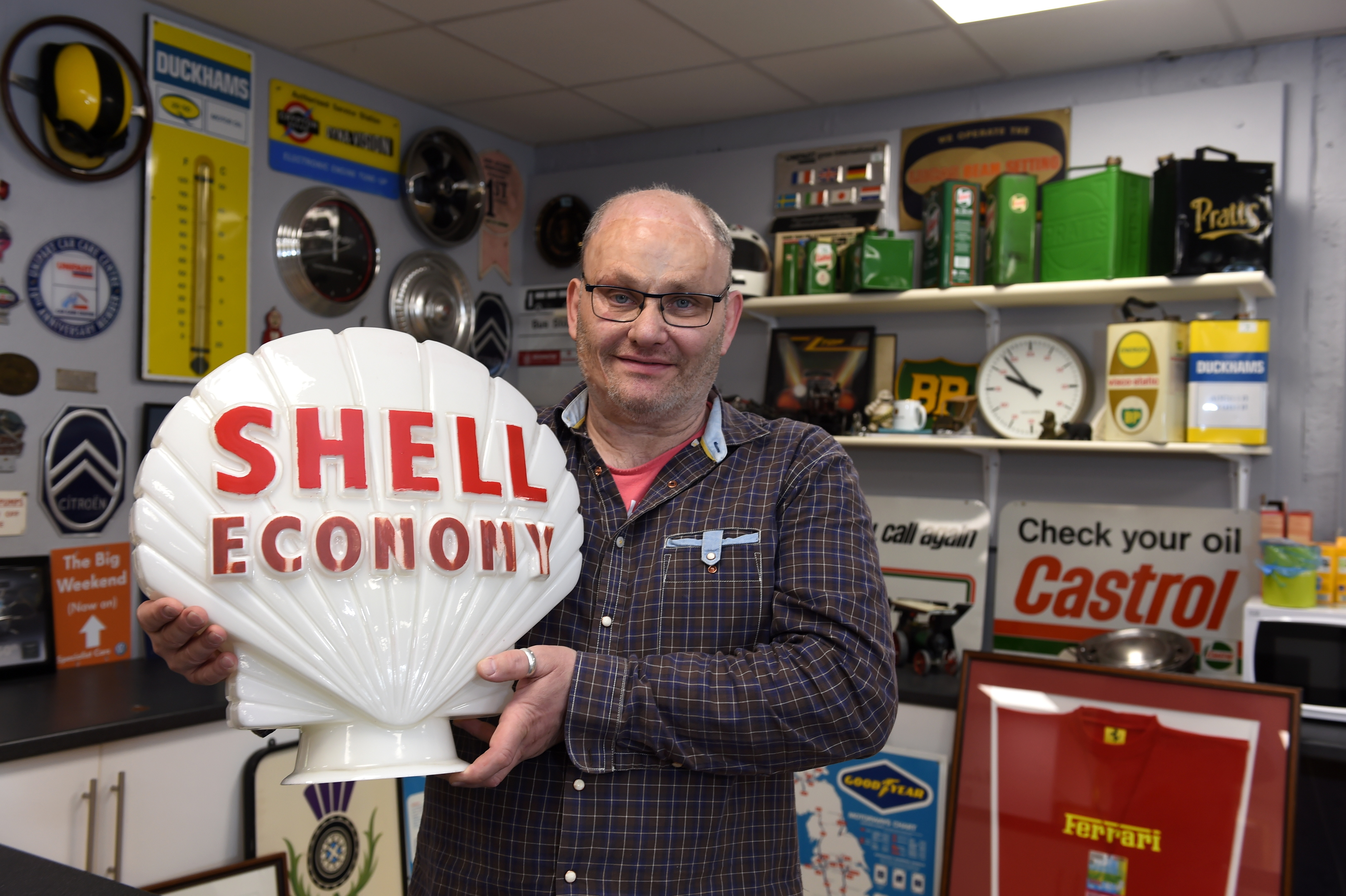 Clive Hampshire will put the items under the hammer later this month.