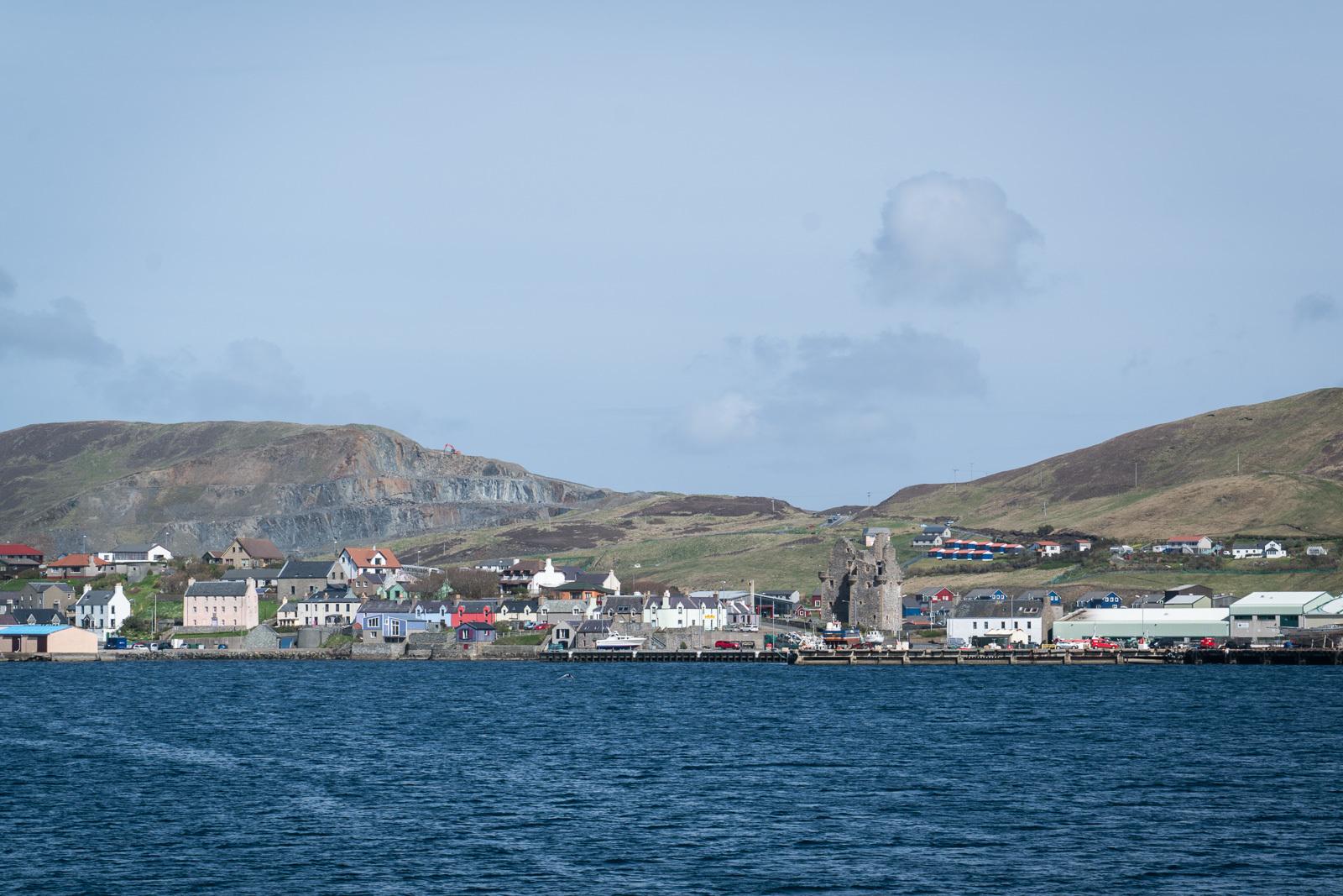 Scalloway on Shetland