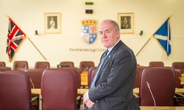 Former Moray Council leader George Alexander