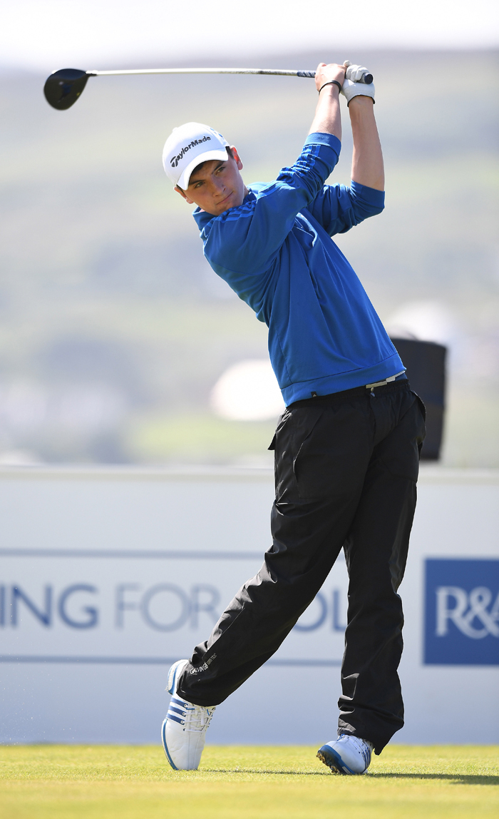 Sam Locke has qualified for the Open at Carnoustie.