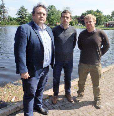 Jamie Halcro Johnson, Douglas Ross and Tim Eagle have slammed the Scottish Government