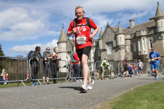 Mr Boyle will run the half marathon and is hoping to raise £10,000