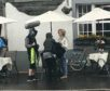 Lochgilphead in Argyll was turned into a movie set.