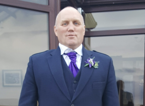 Mark Allan died following a one vehicle road traffic collision in Caithness.
