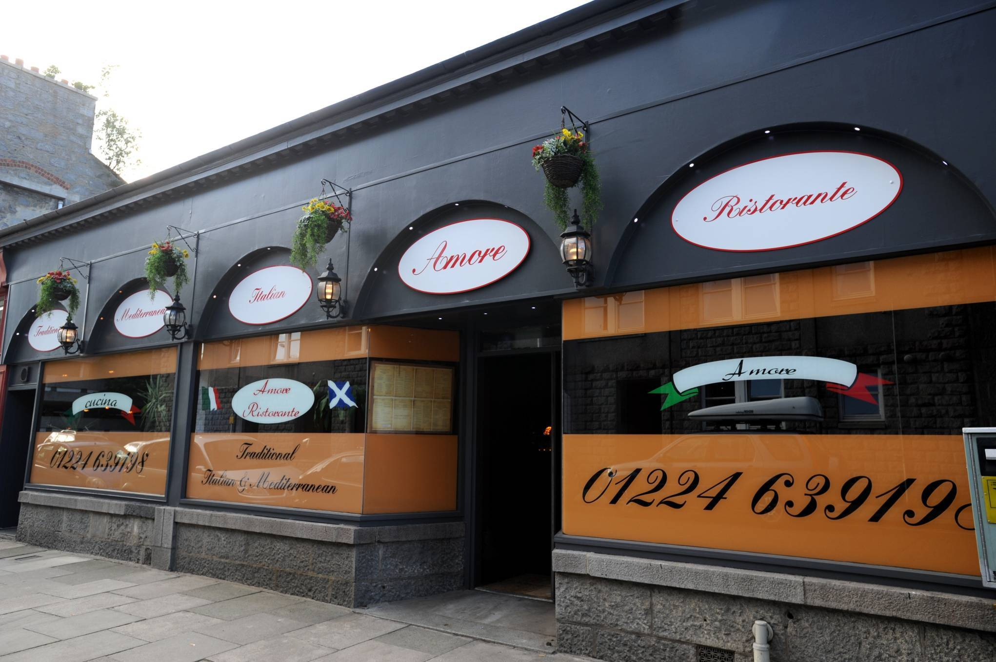 Inspectors visited Mi Amore on Huntly Street and a deep clean was recommended