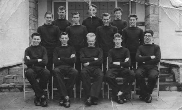 The Moray Sea School class of 1958.