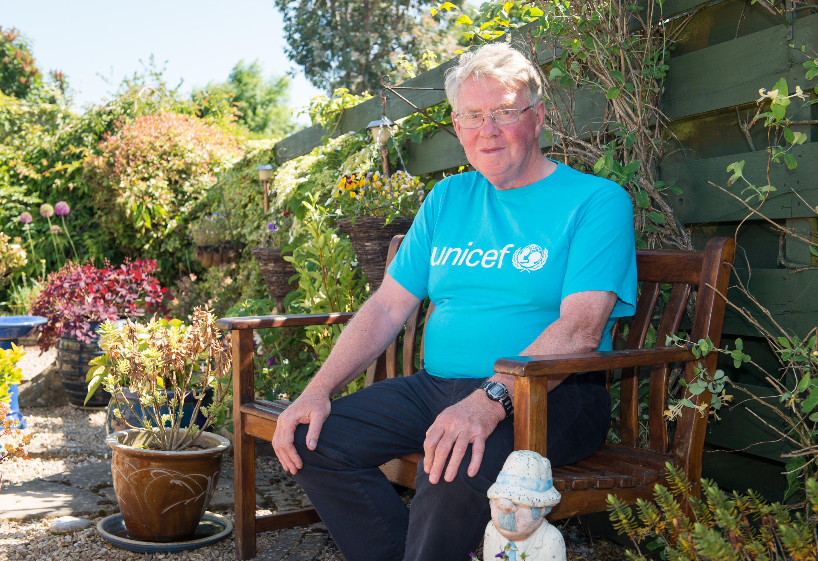 Mr Bill Hope is being made an MBE and is pictured at his home in Elgin, Moray. Picture by Jason Hedges.