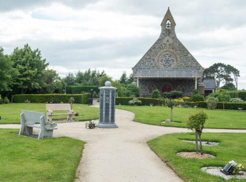 Moray Crematorium near Buckie, Moray