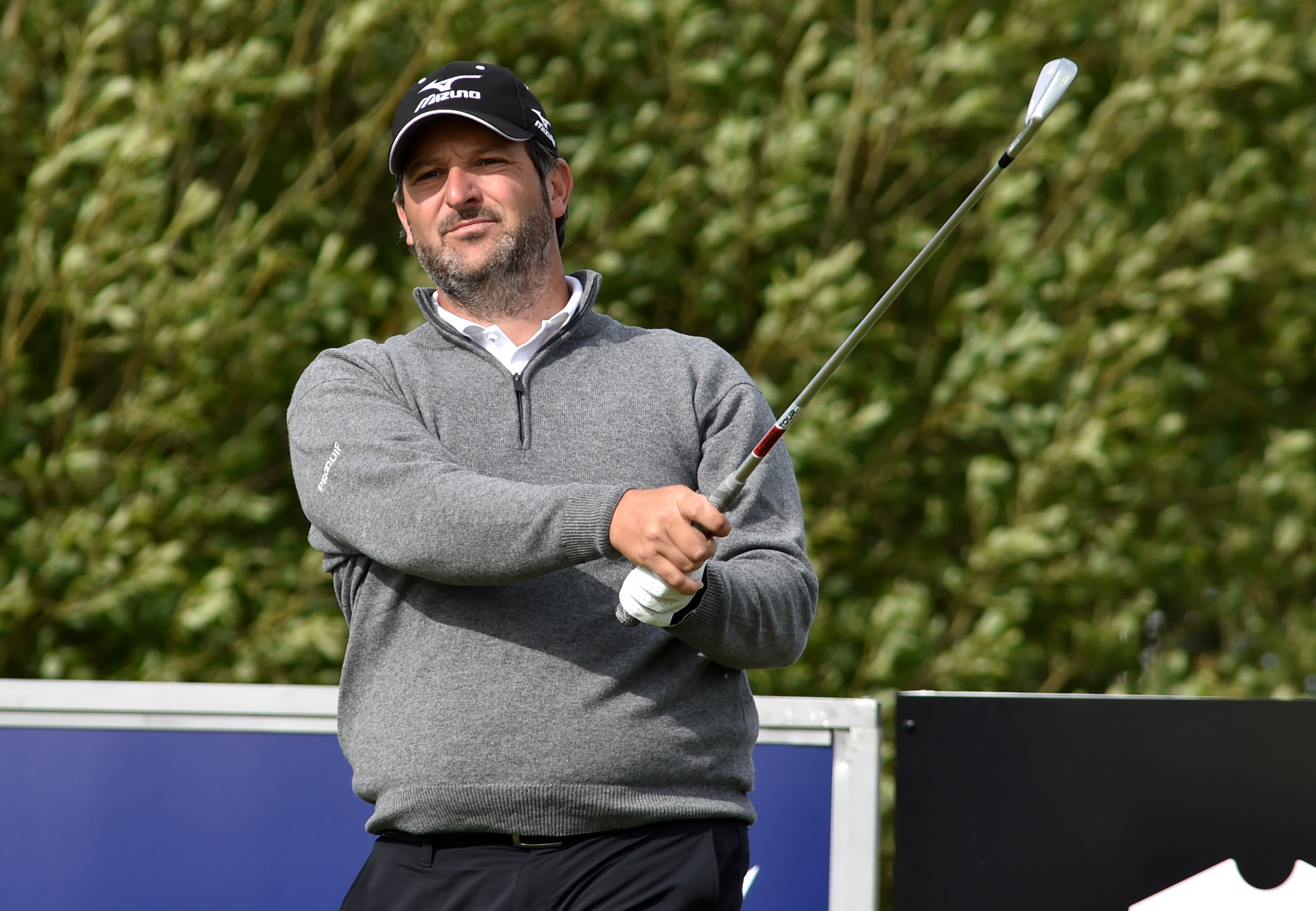 David Dixon won the Scottish Par 3 Championship