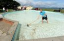 The Nairn Links paddling pool. Picture by Sandy McCook
