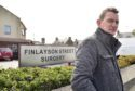 Paul Greenall outside the Finlayson Street Surgery in Fraserburgh.