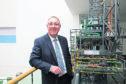 Paul de Leeuw, director of RGU's Oil and Gas Institute.