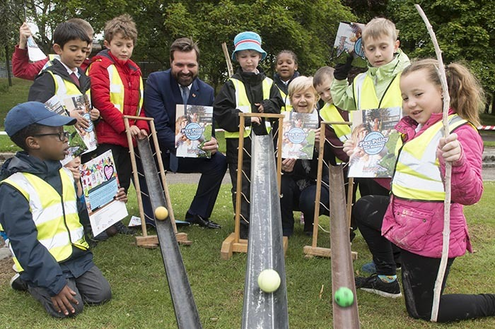 Aberdeen City Council's new Play Policy and Strategy has been officially launched at Westburn Park