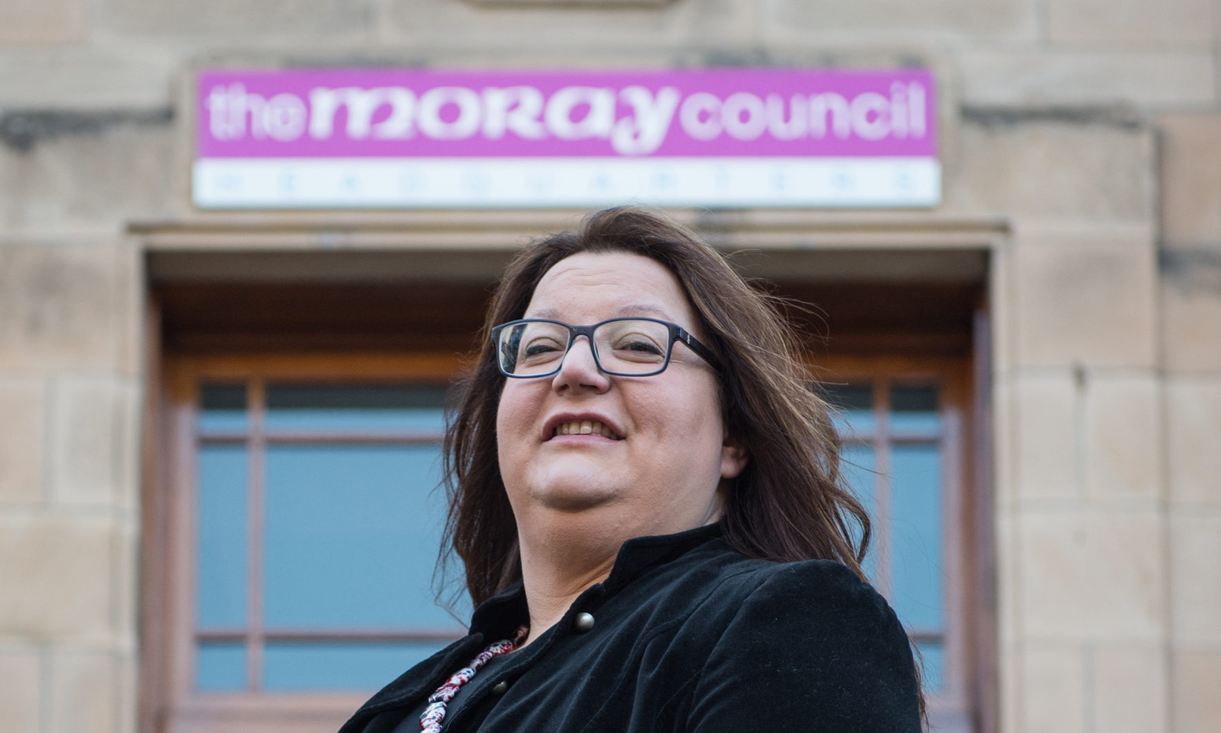 Moray Council convener Shona Morrison.