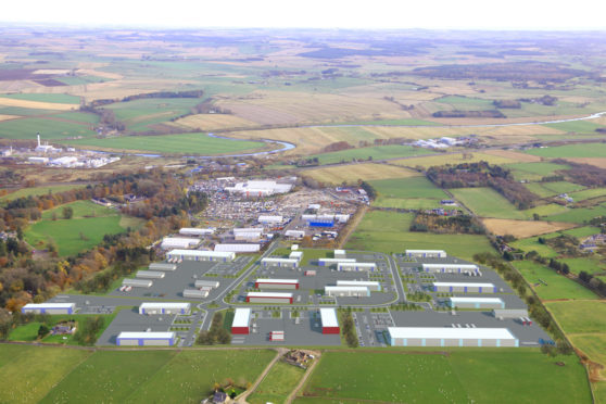 How the expanded Thainstone Business Park will look