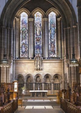 The Memorial Chapel at Glasgow University