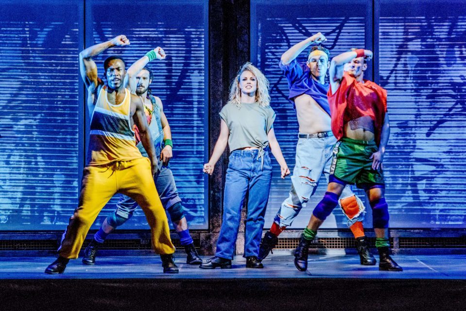 The cast of Flashdance well and truly brought the spirit of the 1980s to HM Theatre last night