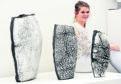 BP Design Award winner Anna Younie with her ceramics.