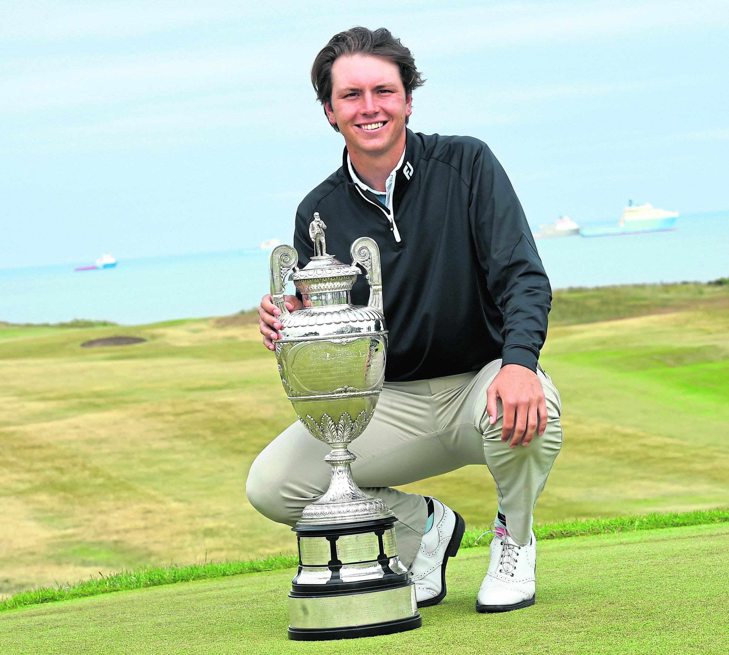 Jovan Rebula at Royal Aberdeen Golf Club