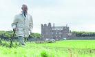 Prince Charles strolls around Caithness