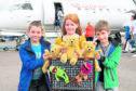 Philip Carroll, Lauren Thompson and Ellis McRobbie headed off to Orkney.
