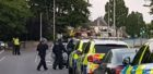 Armed police officers in Aberdeen.