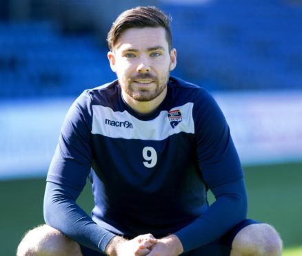 Ryan Dow has made the move from Ross County to Peterhead.