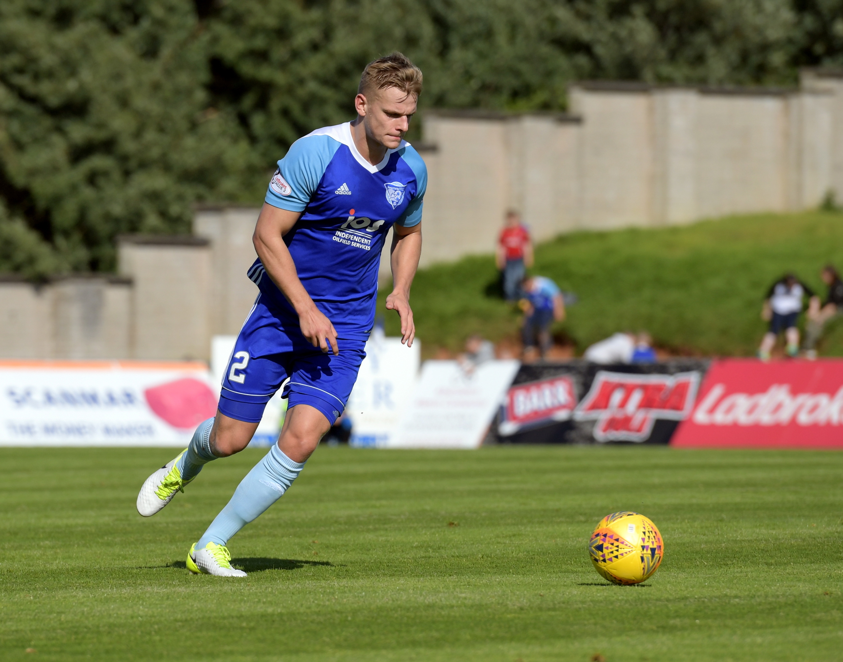 Peterhead defender Jason Brown thanked medics as his brother Jordon is on the road to recovery.