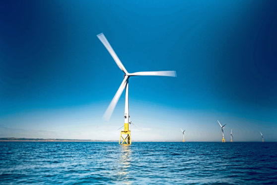 The Moray West development will see 85 turbines sites off the Caithness coast