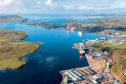 Lerwick harbour profits were hit by repairs to infrastructure, depreciation charge from capital projects and offshore slowdown