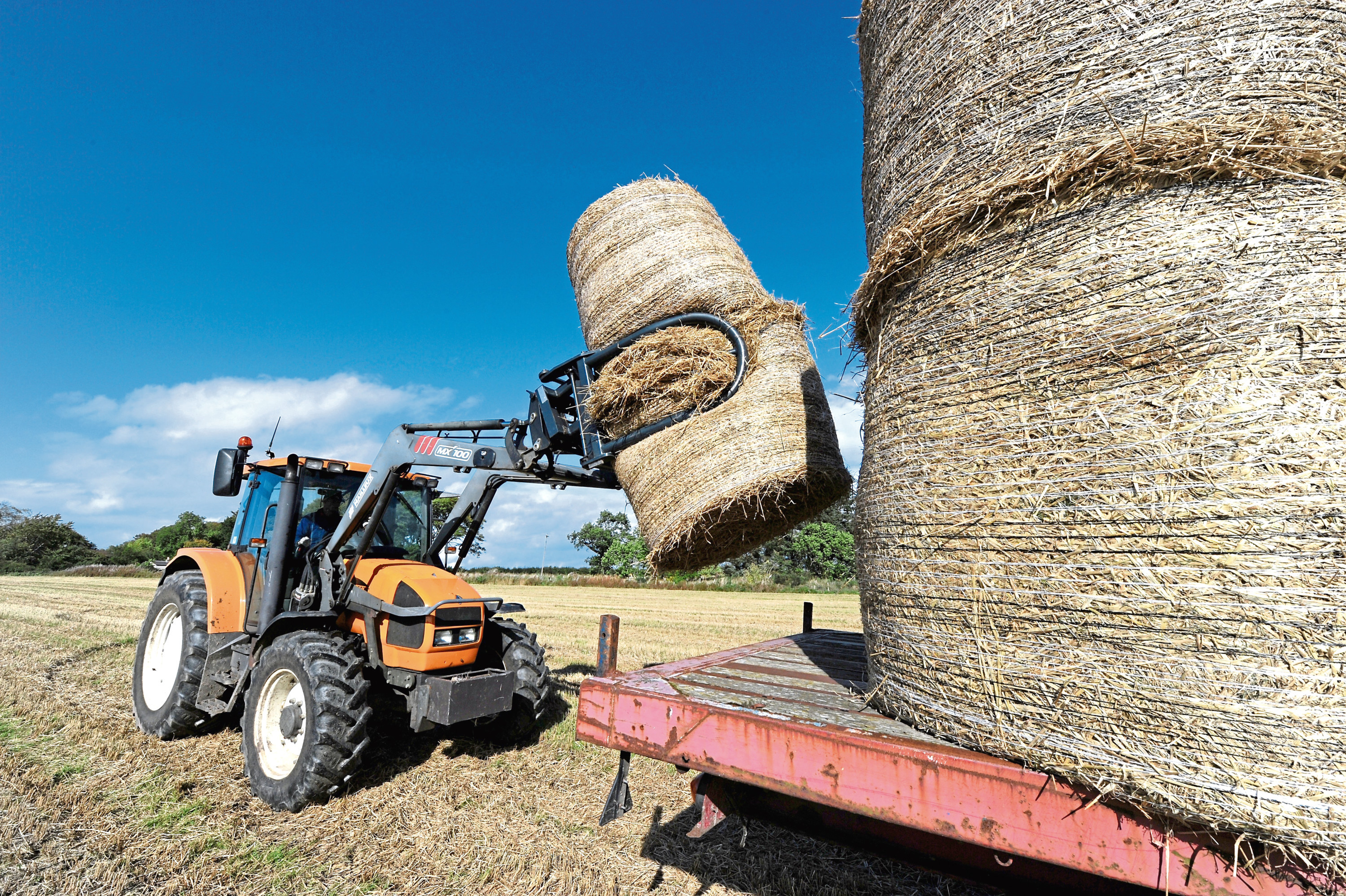 Farmers are being told to plan ahead to ensure they have adequate straw and feed supplies.