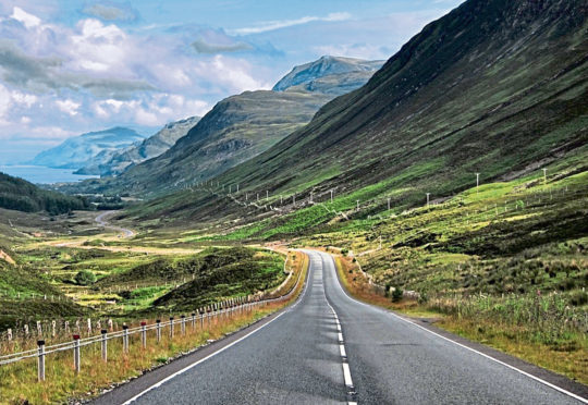Loch Maree on the North Coast 500 route