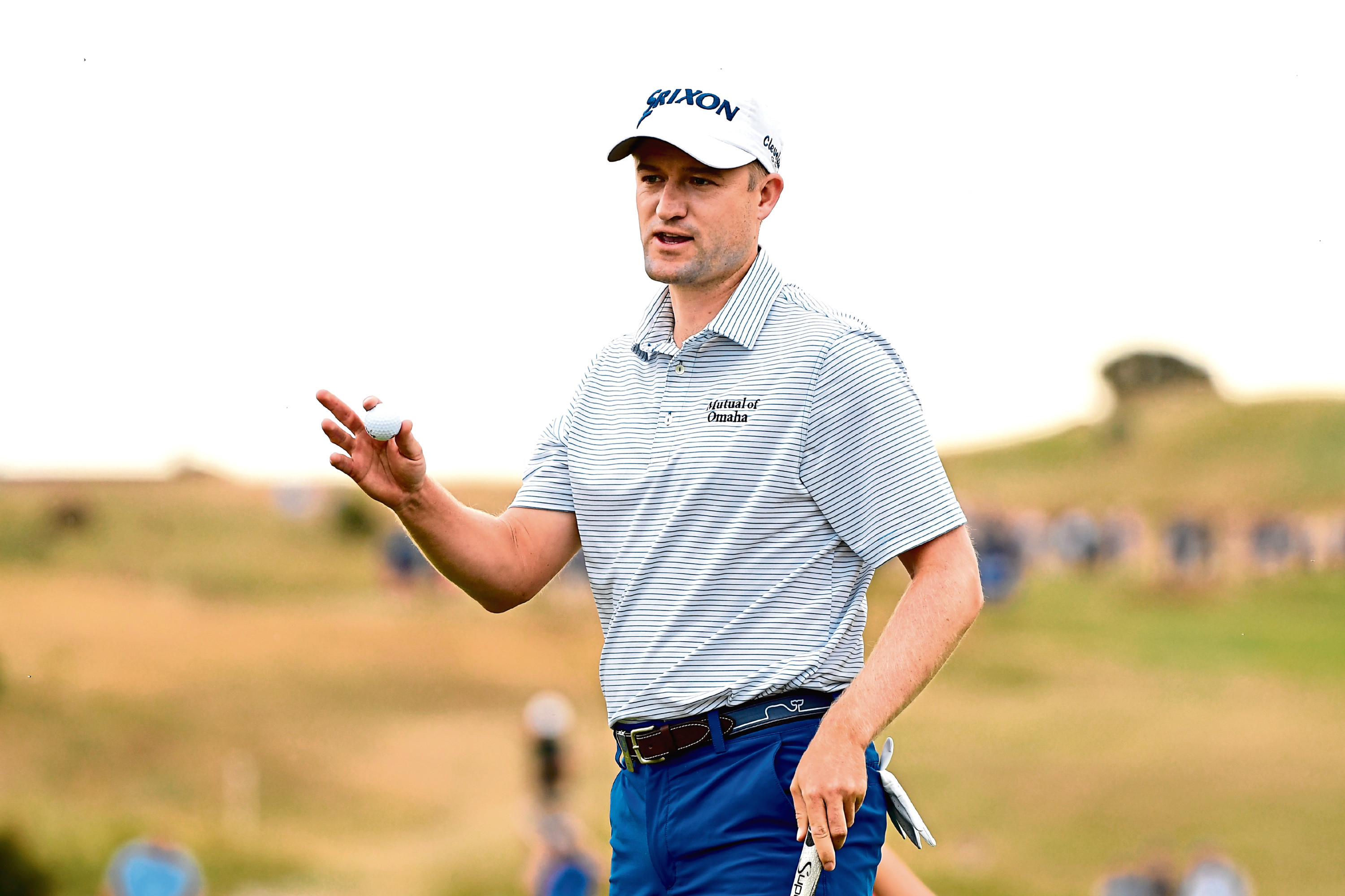Russell Knox will play the Scottish Open at Gullane.