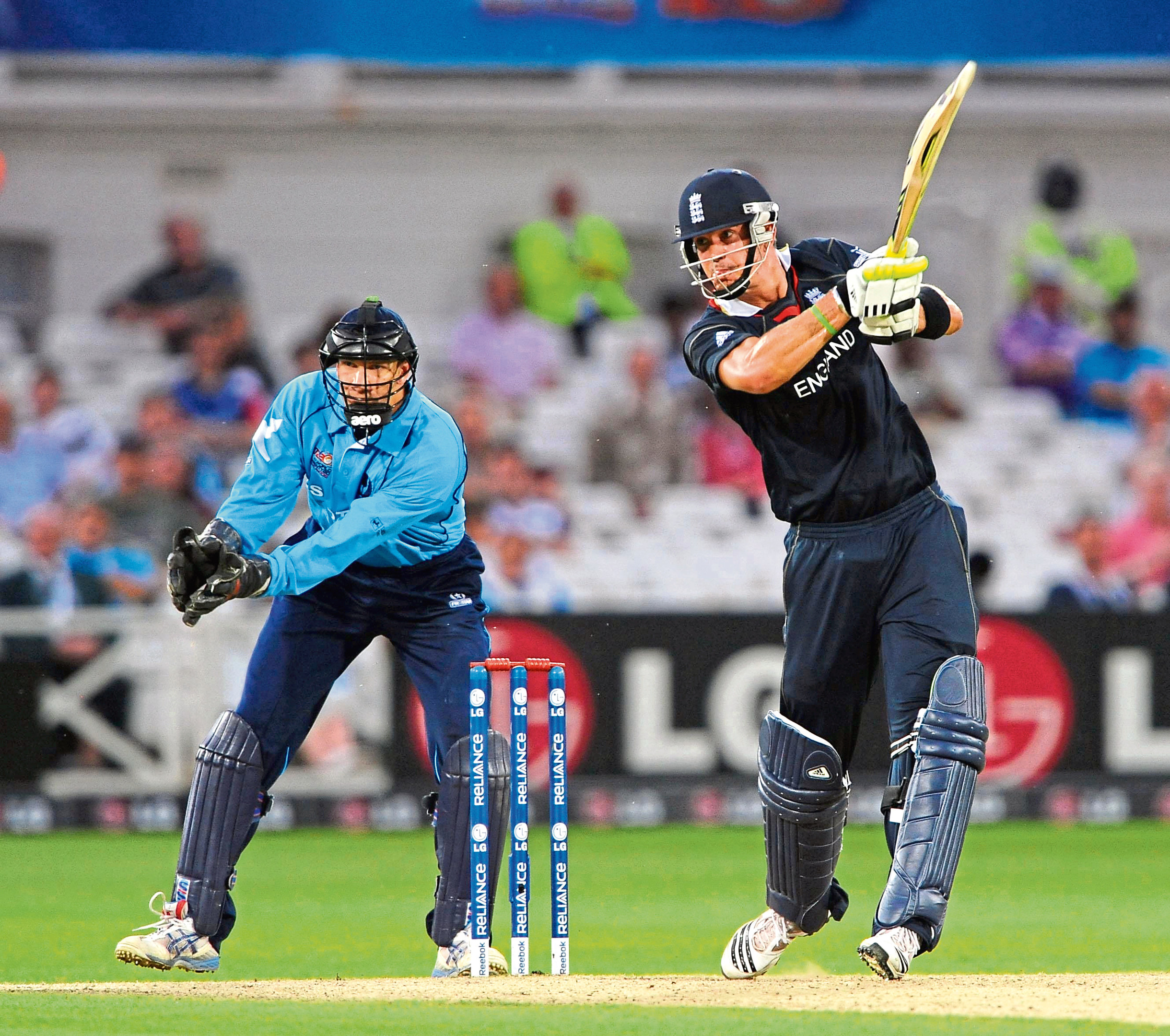 Scotland's Colin Smith against England at Trent Bridge, Nottingham, 2009.