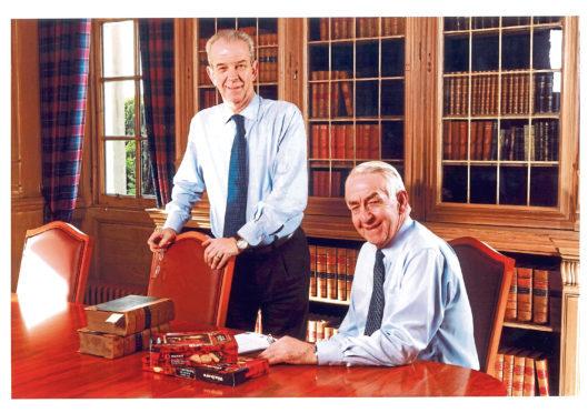 Jim, left, and Joseph Walker.