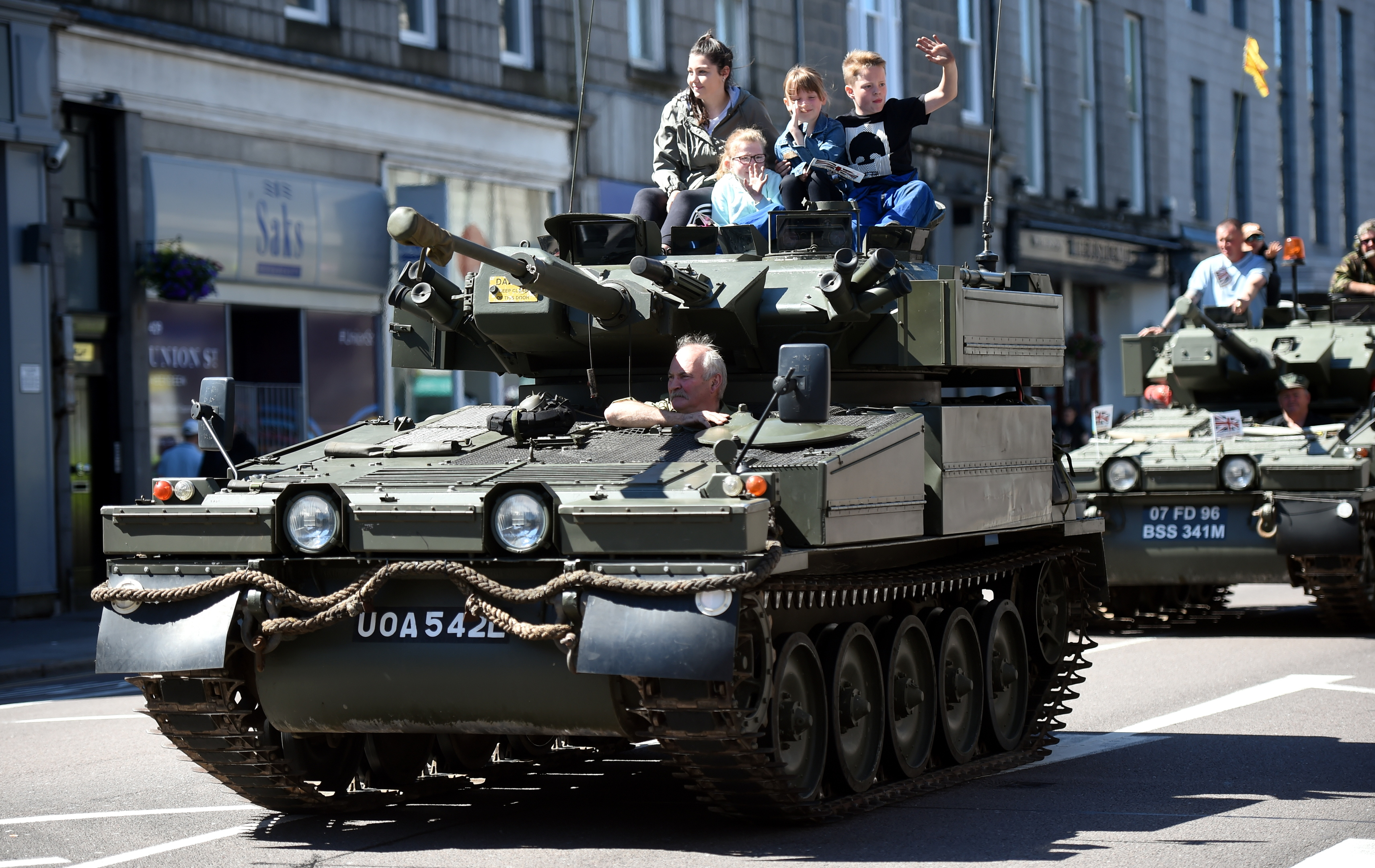 Armed Forces Day Parade. 30/06/18 Picture by HEATHER FOWLIE