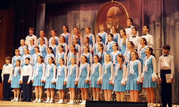 Poliot Children's Choir from Russia