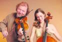 California-based fiddler Alasdair Fraser and cellist Natalie Haas