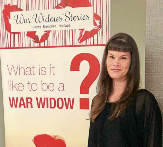 Nadine Muller of War Widows' Stories
