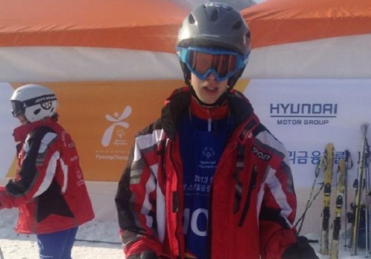 Luke Purdie, from Aberdeen, represented Team GB in the 2013 Special Winter Olympics