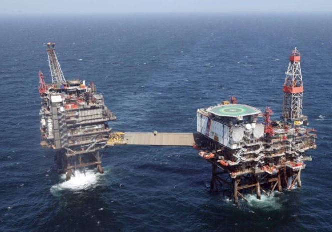 Total's Alwyn platform was one of three which halted production this week due to strikes.
