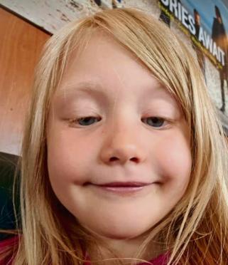 Six-year-old Alesha MacPhail.