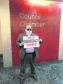 Alan Buchan protests